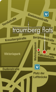 Traumberg Flats Map